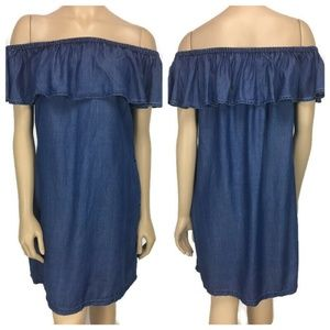 Tommy Bahama Chambray Dress Size Small